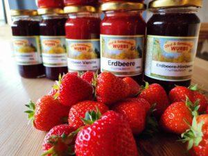 Wurbs Erdbeer Fruchtaufstrich